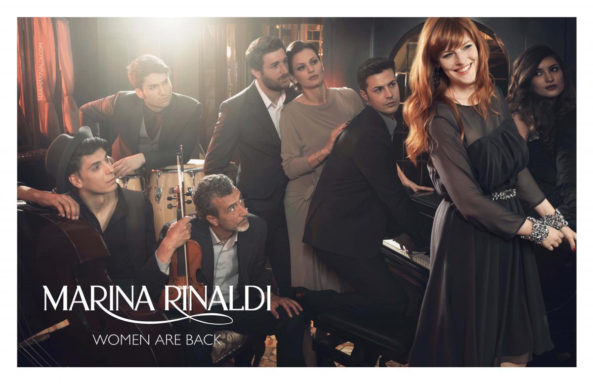 4bc4b92bbcdd Marina Rinaldi – бренд для женщин, как говорят в Италии, «formosa»  (статных). История этой марки началась с известного итальянского модельера  Акилле ...