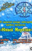 ХII городской конкурс новогодних игровых программ «Юный Морозко – 2016»