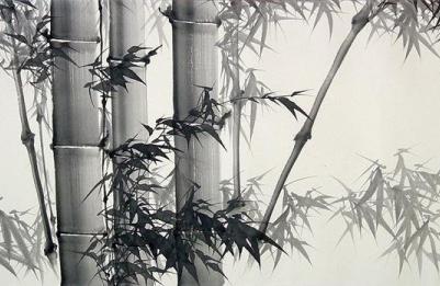 Урок китайского рисования тушью: бамбук